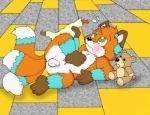 blush canine cub diaper fox green_eyes jimfox1985 male mammal multiple_tails nelson88 nude plushie young   Rating: Explicit  Score: 8  User: dextrous  Date: December 11, 2013