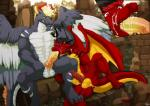 anthro athanaskhay balls barbed_penis collar cum dragon drakorax duo fellatio furryratchet knot leash male male/male messy oral penile penis sex sucking wingsRating: ExplicitScore: 9User: SkarchDate: May 19, 2019