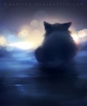 ambiguous_gender apofiss cat daww feline feral lights looking_away lying mammal sad solo   Rating: Safe  Score: 4  User: SnowWolf  Date: June 10, 2011
