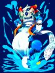 ambiguous_gender belly big_belly blue_eyes canine chubby hi_res hybrid kemono mammal marine mermaid navel noriburu shaorune solo tales_of_rebirth water wolf  Rating: Safe Score: 3 User: GONE_FOREVER Date: May 23, 2015