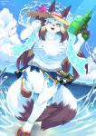 2017 3_toes 4_fingers anklet anthro big_breasts blush breasts canine dipstick_ears dipstick_tail eyebrows eyelashes female fingerless_(marking) fox fur hair jewelry kame_3 kemono long_hair looking_at_viewer mammal multi_tail multicolored_tail one_eye_closed open_mouth smile solo teeth toeless_(marking) toes tongue wide_hipsRating: SafeScore: 10User: voldosbtDate: July 25, 2017