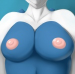 2014 anthro areola ben300 big_breasts blue_background blue_body breasts bust close-up female legendary_pokémon lugia nintendo nipples nude pink_nipples plain_background pokémon solo topless video_games white_body   Rating: Questionable  Score: 16  User: Ghost524  Date: July 05, 2013