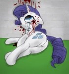 2013 anus blood colored cutie_mark dead edit equine fearingfun female feral friendship_is_magic fur gore hair headshot horn lying mammal my_little_pony open_mouth purple_hair pussy rarity_(mlp) solo unicorn white_fur   Rating: Explicit  Score: -6  User: Sofi  Date: June 20, 2013