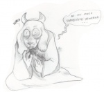 anthro betrayal blood caprine crying dialogue dying english_text female goat horn kneeling mammal monochrome open_mouth paws sad sketch solo tears text toriel undertale  Rating: Safe Score: 4 User: Vaporeon Date: August 17, 2013