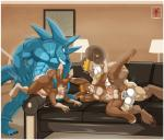 2014 aaron_(artist) aaron_(character) abs anal anal_penetration anthro anus balls beard biceps big_dom_small_sub big_muscles big_penis black_penis blonde_hair blue_eyes blue_fur brown_eyes brown_fur brown_hair butt canine caprine claws cum cum_in_ass cum_inside cum_on_penis cum_string cum_while_penetrated digital_media_(artwork) erection facial_hair fangs from_behind fur grin group group_sex hair horn humanoid_penis interspecies lagomorph leaking lying male male/male mammal muscles nude on_front on_side open_mouth orgasm pecs penetration penis pose rabbit raised_leg ram red_eyes sex sheath size_difference smile sofa spread_legs spreading standing tan_fur teeth thick_penis toe_claws toned tongue tongue_out ven white_fur   Rating: Explicit  Score: 14  User: Robinebra  Date: December 11, 2014