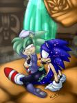<3 anthro bdsm blue_body body_writing bondage bound breasts clothing duo erection female gag hi_res male male/female penetration penis pherociouseso sex sonic_(series) sonic_the_hedgehog vaginal vaginal_penetration  Rating: Explicit Score: 9 User: Butterbutts Date: December 27, 2014