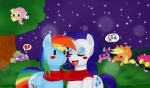 angel applejack_(mlp) blackbewhite2k7 cub cutie_mark darklordpock-san dating dragon earth_pony equine female female/female feral fluttershy_(mlp) friendship_is_magic group horn horse mammal my_little_pony pegasus pinkie_pie_(mlp) pony rainbow_dash_(mlp) rarity_(mlp) scalie scarf spike_(mlp) twilight_sparkle_(mlp) unicorn wings young  Rating: Safe Score: 6 User: Blackbewhite2k7 Date: November 24, 2012""