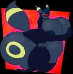 big_breasts big_butt blush breasts butt eeveelution embarrassed female huge_breasts huge_butt hyper hyper_breasts hyper_butt nintendo pokémon transformation umbreon video_games wide_hips  Rating: Explicit Score: 6 User: my_bad_english Date: February 05, 2016