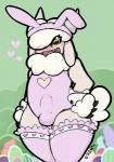 "<3 anthro bulge caprine clothing easter gail girly holidays legwear male mammal sheep sheep_(artist) solo stockings  Rating: Explicit Score: 8 User: Pram Date: May 26, 2014"""
