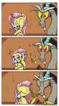 ! 2014 <3 angel_(mlp) antlers band-aid bandage blue_eyes comic daniel-sg discord_(mlp) draconequus equine eyes_closed fangs female fluttershy_(mlp) forked_tongue friendship_is_magic hair horn hug kissing male mammal my_little_pony pegasus pink_hair red_eyes tongue tongue_out wings  Rating: Safe Score: 16 User: 2DUK Date: July 19, 2014