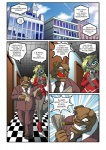 anthro canid canine canis chochi cigar comic domestic_dog duo english_text engrish eyewear female glasses lovely_pets male mammal smoking source_request text