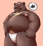 12beat13 anthro bear blush clothing colored embarrassed fundoshi male mammal simple_background solo underwear  Rating: Questionable Score: 2 User: drafan5 Date: October 08, 2015