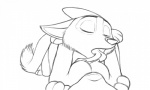 2016 ambiguous_penetration anthro breast_lick breasts canine disney duo embrace eyes_closed female female_pov first_person_view fox fur interspecies judy_hopps lagomorph licking line_art lying maegsker male male/female male_on_top male_penetrating mammal missionary_position nick_wilde nude on_back on_top penetration predator/prey rabbit sex simple_background tongue tongue_out white_background zootopia  Rating: Explicit Score: 32 User: Optisiast Date: March 04, 2016