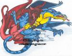 anal anus balls blaquetygriss blue_body dragon duo erection fellatio forked_tongue male male/male mane open_mouth oral penetration penis red_body scalie sex tail_sex tongue tongue_out watermark western_dragon  Rating: Explicit Score: 4 User: syrmat Date: October 23, 2015