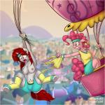 2015 aircraft anthro anthrofied balloon bandanna breasts clothed clothing duo earth_pony english_text equine fan_character female friendship_is_magic hair half-dressed horn horse hot_air_balloon jcosneverexisted mammal my_little_pony nipples outside pinkie_pie_(mlp) pony red_hair scared text torn_clothing underwear unicorn wardrobe_malfunction  Rating: Questionable Score: 3 User: Pasiphaë Date: August 30, 2015