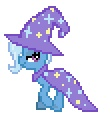 animated cape cool_colors desktop_ponies equine female feral friendship_is_magic horn mammal my_little_pony solo sprite trixie_(mlp) unicorn wizard_hat yamino   Rating: Safe  Score: 2  User: Señor_Ratman  Date: August 01, 2011