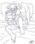 anthro balls cub cum eyes_closed feline humanoid_penis male mammal penis plushie plushophilia saber-toothed_cat sabertooth_(disambiguation) solo wings wolfblade young  Rating: Explicit Score: 10 User: Pokelova Date: July 04, 2015""