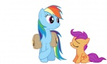 2013 alpha_channel animated bag cub cute cutie_mark duo equine female feral friendship_is_magic hair mammal multicolored_hair my_little_pony nose_kiss pegasus purple_eyes purple_hair rainbow_dash_(mlp) rainbow_hair scootaloo_(mlp) simple_background smile standing transparent_background unknown_artist wings young  Rating: Safe Score: 18 User: 2DUK Date: February 04, 2013