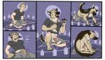 balls canine chubby clothing dog embarrassed german_shepherd hi_res magic_user mammal ripped scared sheath transformation witch   Rating: Explicit  Score: 7  User: dog2346  Date: May 06, 2015