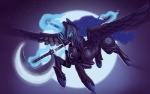 2014 armor axe equine female feral friendship_is_magic horn mammal melee_weapon mick-o-maikeru my_little_pony princess_luna_(mlp) solo weapon winged_unicorn wings  Rating: Safe Score: 15 User: Robinebra Date: September 29, 2014