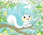 2017 ambiguous_gender kanannbo lemon nintendo open_mouth outside pachirisu pokémon pokémon_(species) solo tree video_gamesRating: SafeScore: 9User: theultraDate: May 17, 2018