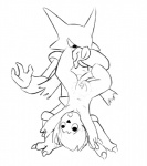 ahegao alakazam anthro anus cat cub duo feline female floating jellymouse looking_pleasured mammal nintendo penetration pokémon pussy simple_background telekinesis tongue tongue_out upside_down vaginal vaginal_penetration video_games youngRating: ExplicitScore: 4User: jellymouseDate: July 02, 2016