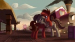 2012 applejack_(mlp) big_macintosh_(mlp) blonde_hair blue_eyes brown_hair bubble cake cloud crying cutie_mark detailed_background equine eye_contact fan_character female feral fluttershy_(mlp) food friendship_is_magic group hair horn horse hug luggage male mammal multicolored_hair my_little_pony outside pegasus pink_hair pinkie_pie_(mlp) pony purple_eyes purple_hair rainbow_dash_(mlp) rainbow_hair rarity_(mlp) sign sky smoke suitcase tears train tsitra360 twilight_sparkle_(mlp) unicorn wings wood   Rating: Safe  Score: 12  User: Rainbow_Dash  Date: July 13, 2012