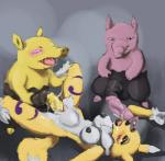 abdominal_bulge anthro balls big_penis breasts canine crossover cum cum_inside cum_on_breasts cum_on_penis digimon drowzee erect_nipples female fox fur group long_penis lying male male/female mammal nintendo nipples on_back open_mouth penetration penis pokémon pussy renamon saliva sex spread_legs spreading tongue ungulatr unusual_penis vaginal vaginal_penetration video_games yellow_fur  Rating: Explicit Score: 10 User: BlueDragon407 Date: April 19, 2014""