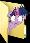 alpha_channel blues27xx equine female feral folder friendship_is_magic fur hair horn icon looking_at_viewer low_res mammal multicolored_hair my_little_pony purple_fur purple_hair simple_background smile solo transparent_background twilight_sparkle_(mlp) two_tone_hair unicorn
