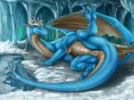 2016 anus blue_scales butt claws collaboration digital_media_(artwork) dragon female feral hi_res ice karukuji looking_at_viewer multicolored_scales paws presenting presenting_hindquarters presenting_pussy pussy raised_leg scales scalie smile snow solo spreading tan_scales tochka toe_claws two_tone_scales wings winter  Rating: Explicit Score: 86 User: Numeroth Date: January 06, 2016