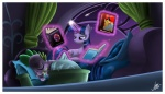 bed book dragon equine female feral friendship_is_magic hair horn horse loungejase magic male my_little_pony pony scalie sleeping spike_(mlp) twilight_sparkle_(mlp) unicorn   Rating: Safe  Score: 5  User: Robinebra  Date: March 03, 2012