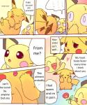 anthro brother_and_sister comic dayan duo female incest kemono leaf male nintendo pichu pikachu pokémon shocked sibling translated video_games   Rating: Safe  Score: 1  User: KemonoLover96  Date: February 03, 2015