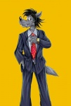 anthro canine claws clothing male mammal nogicu nu_pogodi russian shirt smile solo soyuzmultfilm tuxedo volk wolf   Rating: Safe  Score: 2  User: metalslayer777  Date: April 27, 2014