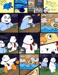 2015 anthro bear black_fur bow_tie clothing comic cute dialogue duo english_text fur graft_(artist) ice_bear male mammal multicolored_fur panda panda_(character) polar_bear smile text two_tone_fur we_bare_bears white_fur  Rating: Safe Score: 3 User: Scarlet15 Date: October 05, 2015