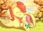2015 cute daughter english_text equine fan_character father father_and_daughter female feral fluttershy_(mlp) friendship_is_magic male mammal my_little_pony nobody47 parent pegasus text wings young  Rating: Safe Score: 13 User: Robinebra Date: August 31, 2015