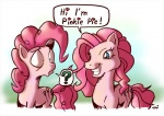 ? blue_eyes cutie_mark dialog duo english_text equine eye_contact female feral friendship_is_magic fur horse mammal my_little_pony pink_fur pinkie_pie_(mlp) pony smile text tobibrocki   Rating: Safe  Score: 9  User: Sods  Date: March 07, 2014
