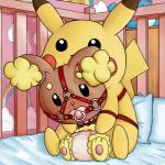 bdsm bondage bound buneary crib diaper duo feral gag hi_res nintendo pokémon unknown_artist video_games  Rating: Questionable Score: 0 User: Cutie777 Date: December 16, 2015