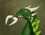 2015 aggressive bite digital_media_(artwork) dragon feral green_body green_scales green_spines green_tail holding_tail horn looking_at_viewer male open_mouth samantha-dragon scales showing_teeth solo tail_biting tail_in_mouth teeth two_tone_body white_horn yellow_eyesRating: SafeScore: 1User: MillcoreDate: May 25, 2017