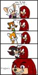 angry anthro bat canine comic echidna english_text female fox group hedgehog knuckles_the_echidna male mammal marine_the_raccoon miles_prower monotreme purple_eyes raccoon rouge_the_bat shadow_the_hedgehog sonic_(series) sweat text unknown_artist  Rating: Safe Score: 1 User: Juni221 Date: August 08, 2014
