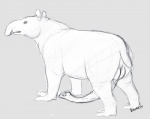 2014 3_toes anatomically_correct animal_genitalia balls chubby erection feral grey_background long_penis looking_at_viewer male mammal naoma-hiru penis simple_background sketch solo standing tapir toes trunk  Rating: Explicit Score: 1 User: pc-king Date: May 30, 2014