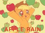 2014 apple applejack_(mlp) blonde_hair cowboy_hat equine female freckles friendship_is_magic fruit fur green_eyes hair happy hat horse mammal my_little_pony orange_fur pony solo ya-a   Rating: Safe  Score: 7  User: anthroking  Date: February 07, 2014