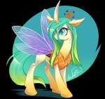 2016 absurd_res blue_eyes changeling eyelashes female feral friendship_is_magic gradient_hair hi_res hooves horn insect_wings jadedjynx my_little_pony queen_chrysalis_(mlp) solo sparkles standing wingsRating: SafeScore: 19User: MillcoreDate: November 09, 2016