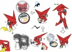 blue_eyes digimon eyes_closed group human mammal multiple_scenes one_eye_closed open_mouth red_skin shoutmon simple_background solo text white_background white_skin yawn  Rating: Questionable Score: 0 User: kunga Date: May 17, 2015