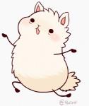 ambiguous_gender animated black_eyes blush camelid fur huiro llama mammal plain_background running solo white_background white_fur   Rating: Safe  Score: 1  User: slyroon  Date: June 29, 2013