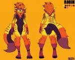 anthro butt colorful cute male penis punishedkom refrence_sheet wide_hips