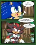 2016 absurd_res anthro bodysuit clothing crossgender detailed_background dreamcastzx1 female forest gloves green_eyes hedgehog hi_res male mammal red_eyes shadow_the_hedgehog skinsuit sonic_(series) sonic_the_hedgehog tight_clothing tree video_games  Rating: Questionable Score: 6 User: Dreamcastzx Date: February 26, 2016