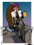 beaver clothing cup desk female legwear mammal necktie office pen rodent rubber secretary skirt solo stockings  Rating: Questionable Score: 1 User: tartcore Date: July 24, 2015