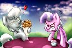 2014 angry blue_eyes cherry cub diamond_tiara_(mlp) duo earth_pony equine eyewear female friendship_is_magic fur glasses grey_fur hair horse jealousy mammal milkshake my_little_pony pink_fur pony silver_spoon_(mlp) tadashi--kun tiara two_tone_hair young   Rating: Safe  Score: 3  User: SlayerBVC  Date: May 05, 2015