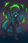 changeling equine female feral friendship_is_magic green_eyes hobbes_maxwell horn horse magic my_little_pony queen_chrysalis_(mlp) solo tongue tongue_out wings   Rating: Safe  Score: 13  User: Hobbes_Maxwell  Date: April 23, 2012