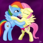 2014 blue_fur clothing cutie_mark duo equine female female/female feral fluttershy_(mlp) french_kissing friendship_is_magic fur hair horse kissing long_hair mammal multicolored_hair my_little_pony open_mouth panties pegasus pink_hair pony purple_eyes rainbow_dash_(mlp) rainbow_hair rainbow_tail smile stefy tongue tongue_out underwear wings   Rating: Questionable  Score: 3  User: Orion038  Date: July 30, 2014